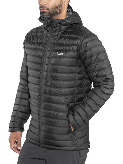 Rab Microlight Alpine Long Miehet takki , musta